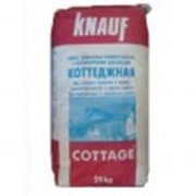 Коттеджная смесь цементная универсальная Кнауф 25кг фото