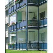 """Безрамное остекление балконов: """"ЗА"""" И """"ПРОТИВ"""" фото"""