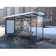 Навес остановка остановочный павильон ожидания транспорта фото