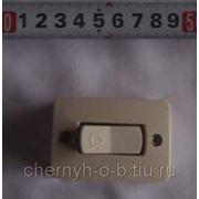 Кнопка д/звонка 126, 30V (С-598) фото