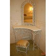 Рамка для зеркала, кованая, столик фото