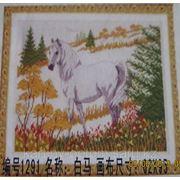 """Белая лошадь""""62*95"""" фото"""
