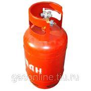 Пропановый баллон 12 литров с вентилем фото