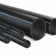 Трубы полиэтиленовые напорные фото