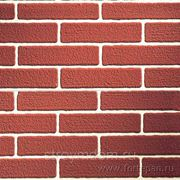 Декоративная панель Forte Le Murine Linea Brick Rosso fuga grigia 310 фото