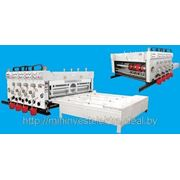 Флексо-принтер-слотер для произодства гофротары XT-L и тары из картона фотография