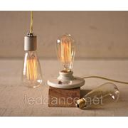 """Vintage Edison Lamp"" Винтажные Лампы Эдисона фото"