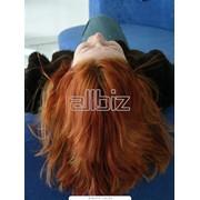 Окрашивание волос в Алматы фото