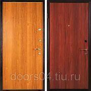 """Входные двери с отделкой """"ЛАМИНАТ + ЛАМИНАТ"""" фото"""