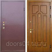Входные двери с отделкой ПОРОШОК + МДФ фото
