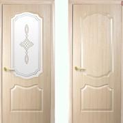 Дверь из бруса Новый стиль Фортис V ясень фото