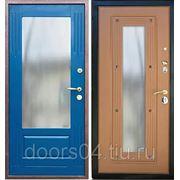 Входные двери с отделкой МДФ (с зеркалом) + МДФ (с зеркалом) фото