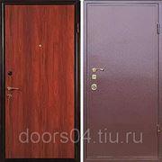"""Входные двери с отделкой """"ЛАМИНАТ + ПОРОШОК"""" фото"""