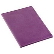 Обложка для автодокументов Twill, фиолетовая фото