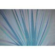 Шифон хамелеон голубой фото