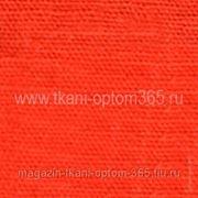 Лен крашенный Ярко-оранжевый фото