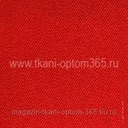 Ткань костюмная Красный фото