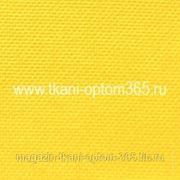 Габардин тонкий Желтый фото