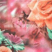 Хлопок-сатин Разноцветная фото