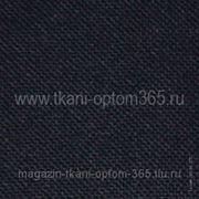 Габардин тонкий Темно-синий фото