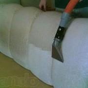 Чистка ковров и мягкой мебели фото