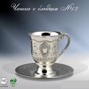 Чашка с блюдцем №12 фото