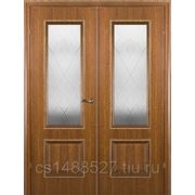 Дверь Краснодеревщик распашная орех фото