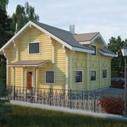 Проект деревянного дома, артикул 20 фото