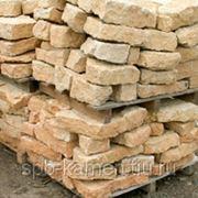 Известняк медовый кладочный, толщина 9-15 см фото