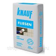 Кнауф Флизен (25кг) клей плиточный для внутр/наруж работ фото