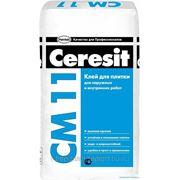 Клей для плитки Ceresit СМ11 (для внутренних и наружных работ) фото