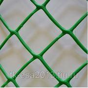 Пластиковй забор (Заборная решетка 55*55, h=1,5м) фото