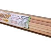 Шампуры деревянные берёзовые (20 шт, круглые) фото