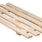 Решетка для в Ника деревянный 680*300мм арт.РВ2 (1/1) фото