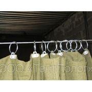 Изготовление защитных штор из брезента фото