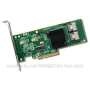 LSI SAS9211-8i Контроллер SAS LSI00195 (PCI-E 2.0 x8, LP, SAS6G, RAID 0,1,10, 8port (2*intSFF8087) KIT (арт. LSI00195) фото