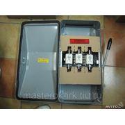 Рубильник электрический, 250 А фото