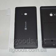 Крышка задняя черная для Microsoft Lumia 540 + ПЛЕНКА В ПОДАРОК 3923 фото