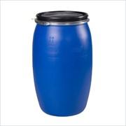 Новая Бочка пластиковая 120л. Open-Top синяя фото