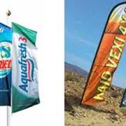 Флаги рекламные. фото