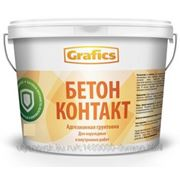 Грунт Бетон контакт 12 кг Grafics фото