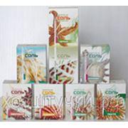 Соль морская ароматная для ванн в картонной коробке Природная фото