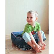 Кресло мешок Пуф с кантом. Детский фото