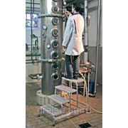 """Лестницы-платформы Krause Лестница с платформой """"Vario компакт"""" количество ступеней 10,ширина поперечной траверсы 1,44м 833167 фото"""