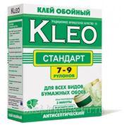 Клей KLEO Стандарт для обоев, 7-9 рулонов 160 гр фото