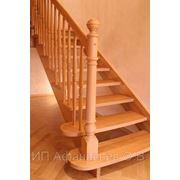 Лестница деревянная (хвоя)