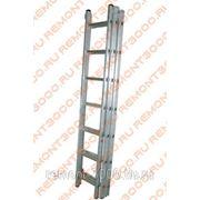 БИБЕР 98217 Лестница универсальная 3-х секционная 17 ступеней / BIBER 98217 Лестница-стремянка универсальная трехсекционная алюминиевая 17 ступеней