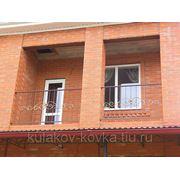 Балкон с накладными элементами фото