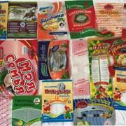 Упаковка для мясных, колбасных изделий, курей с логотипом заказчика фото