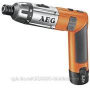 Отвертка аккумуляторная AEG SE 3.6 Li, 1.5 А*ч, Li-Ion, 600 об/мин, 6.5 Нм фото